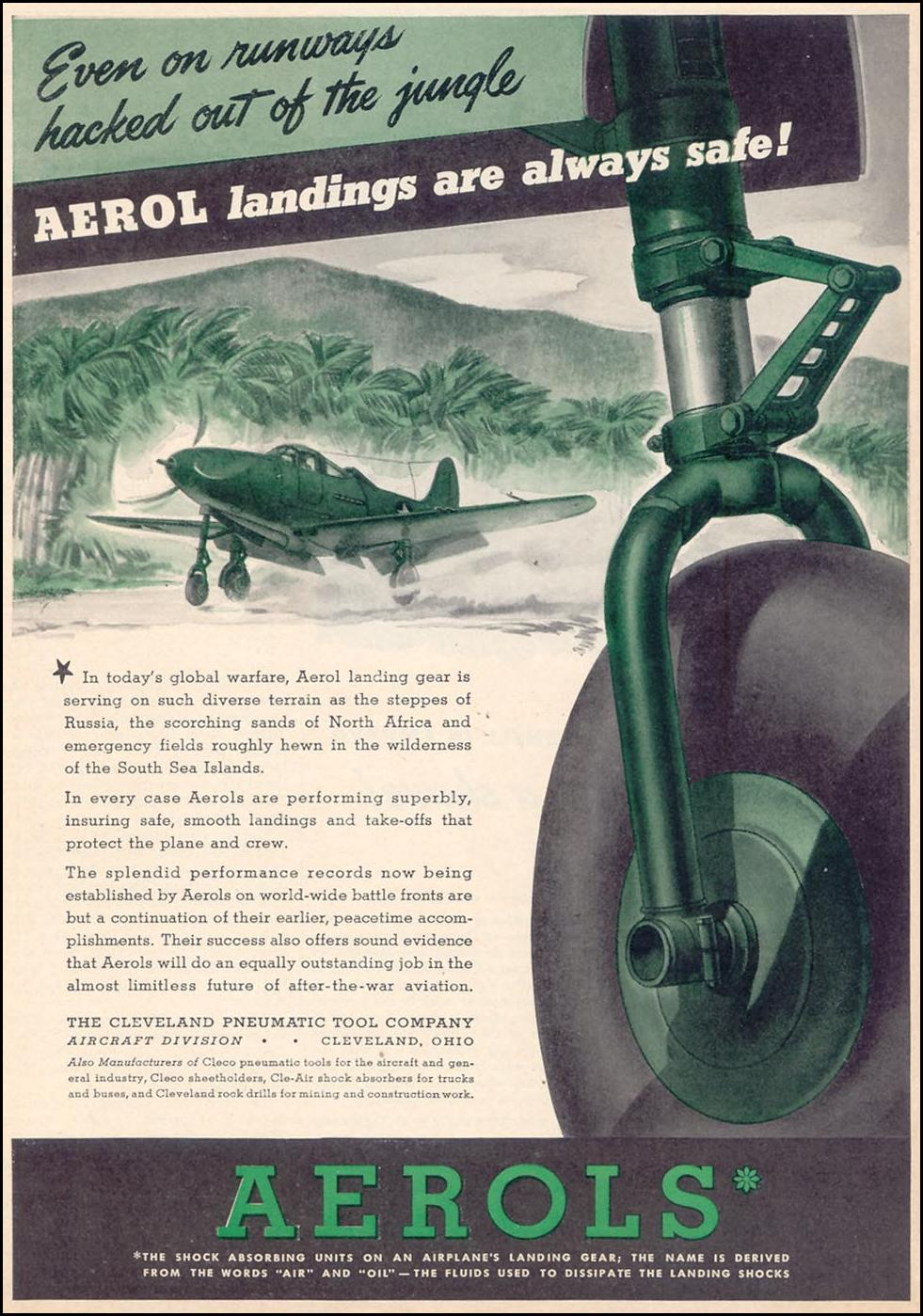 AEROL SHOCK ABSORBERS TIME 12/28/1942 p. 47
