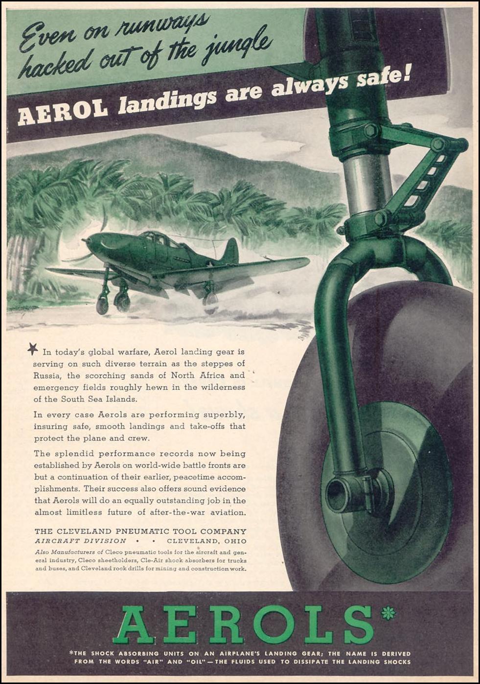 AEROL SHOCK ABSORBERS TIME 12/28/1942 p. 47