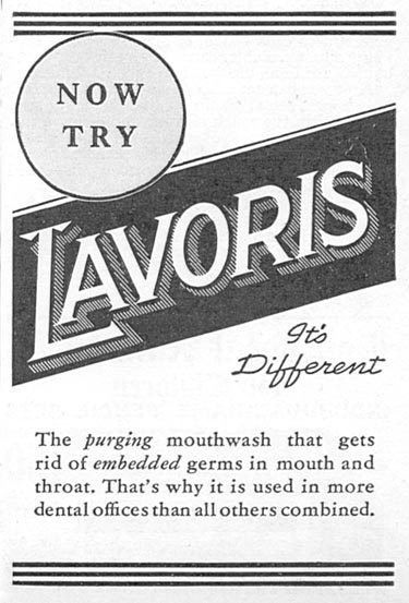 LAVORIS GOOD HOUSEKEEPING 12/01/1933 p. 182