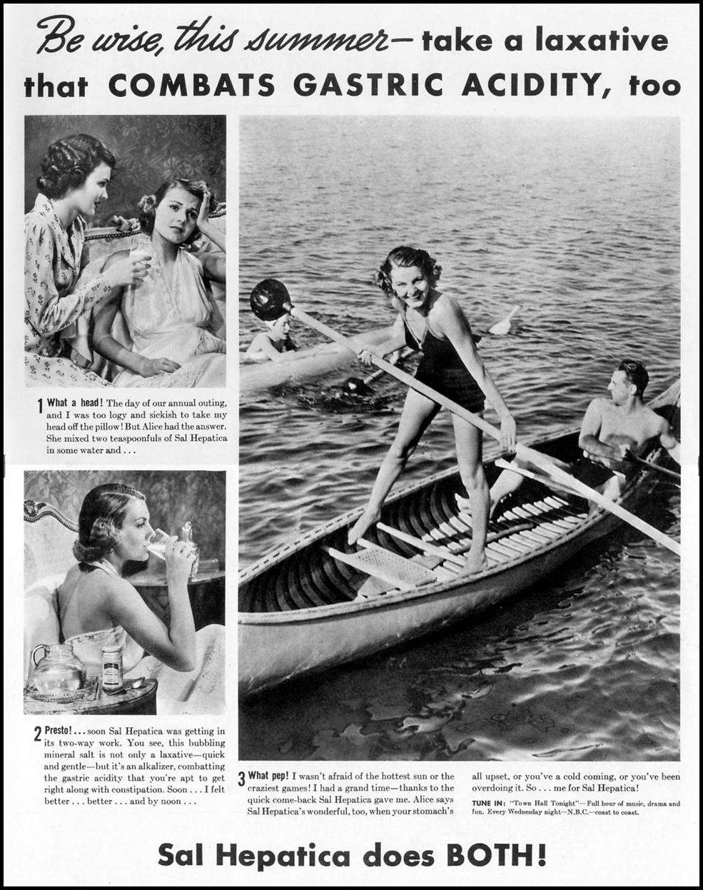 SAL HEPATICA LAXATIVE LIFE 07/26/1937 p. 1