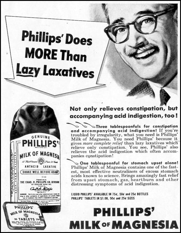 PHILLIPS' MILK OF MAGNESIA LOOK 12/04/1951 p. 11