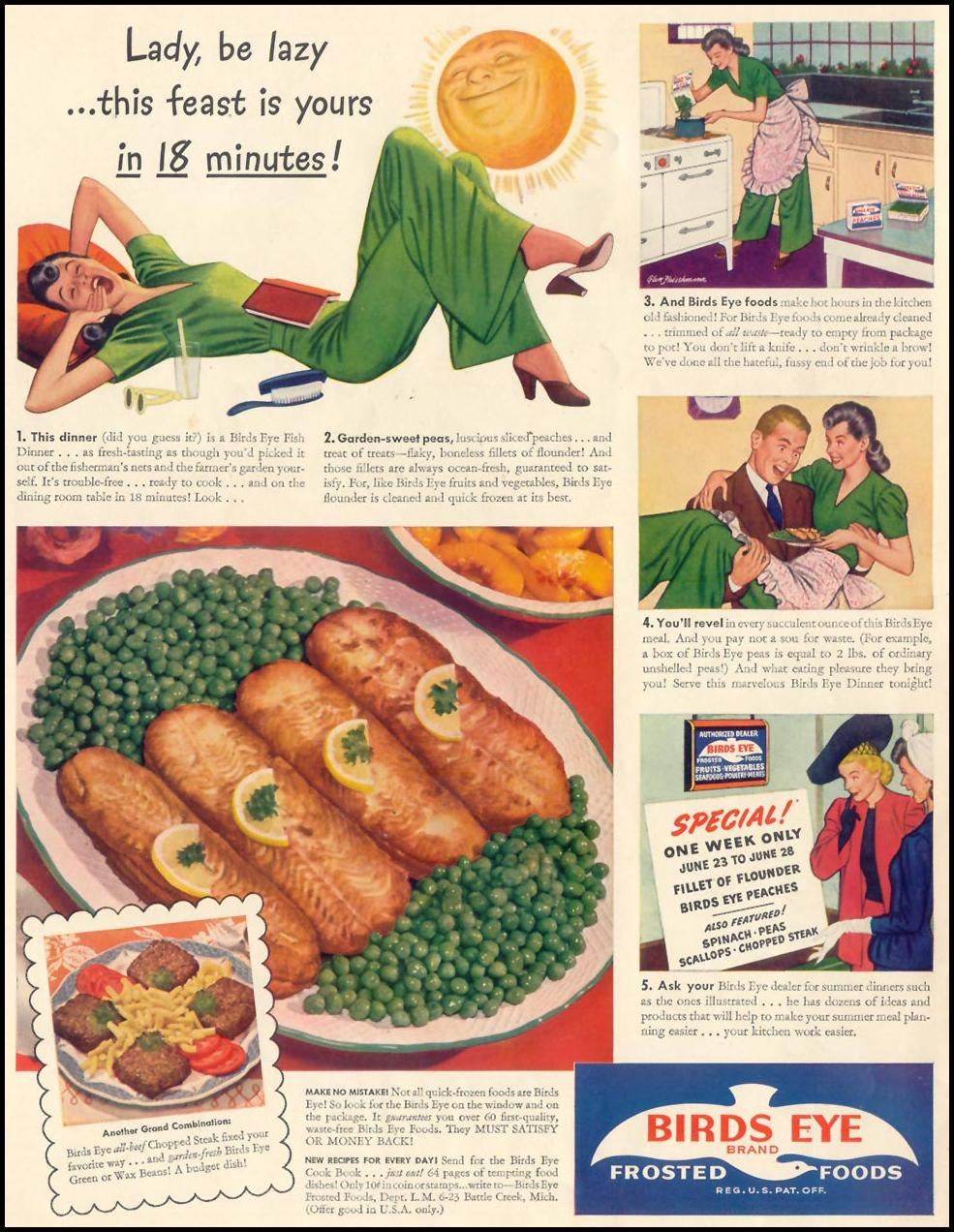 BIRDS EYE FROZEN FOODS LIFE 06/23/1941