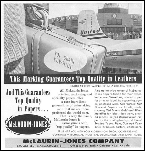 LEATHER GOODS NEWSWEEK 06/11/1951 p. 84