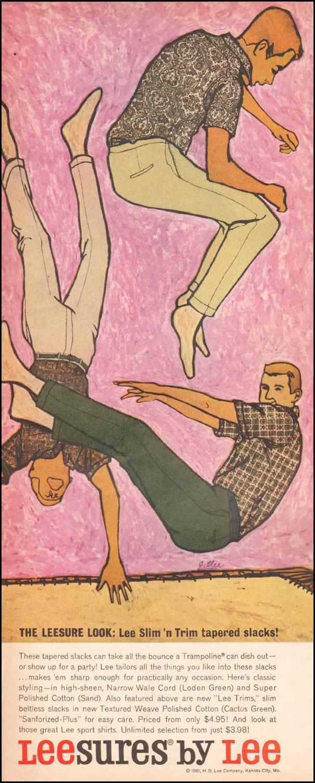 LEESURES TAPERED SLACKS LIFE 05/05/1961