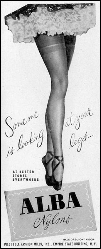 ALBA NYLONS LIFE 11/15/1948 p. 29