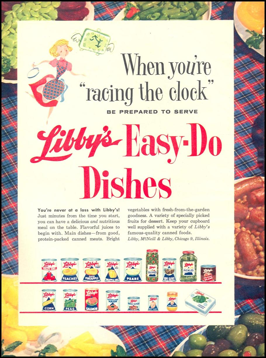 LIBBY'S PRODUCTS FAMILY CIRCLE 02/01/1957