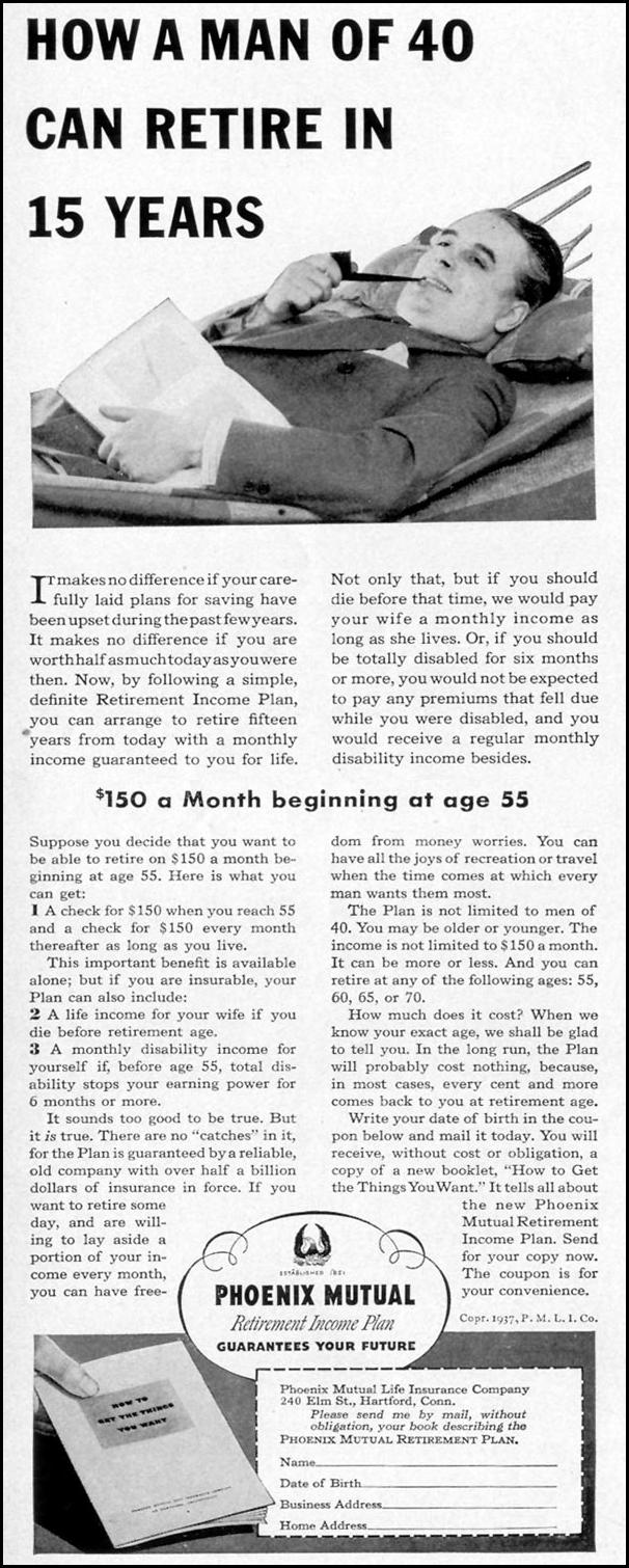 PHOENIX MUTUAL RETIREMENT INCOME PLAN LIFE 07/26/1937 p. 12