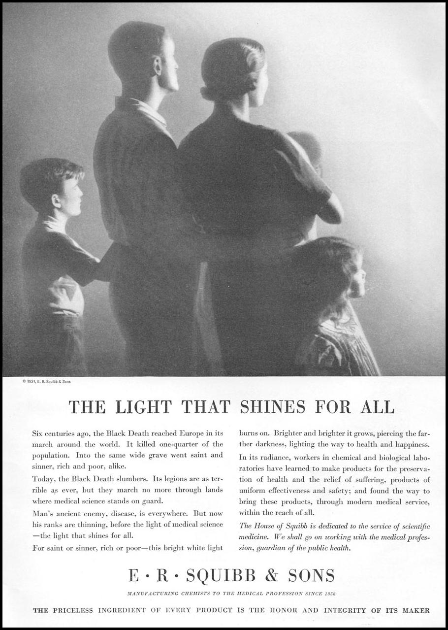 PHARMACEUTICALS GOOD HOUSEKEEPING 12/01/1934 p. 127