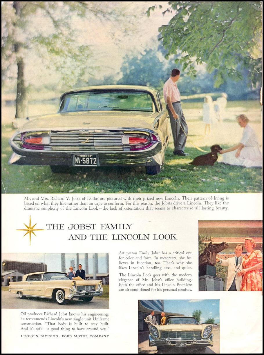 LINCOLN AUTOMOBILES
