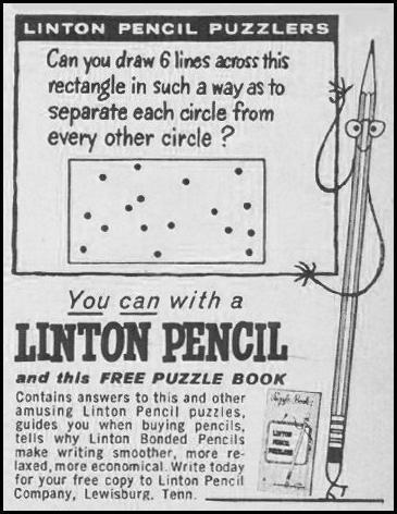 LINTON PENCILS LOOK 10/29/1957 p. 134