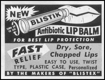 BLISTIK ANTIBIOTIC LIP BALM LIFE 02/09/1959 p. 68