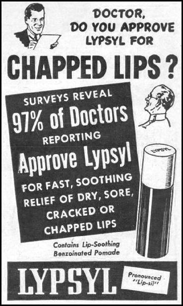 LYPSYL LIP BALM LIFE 11/25/1946 p. 132