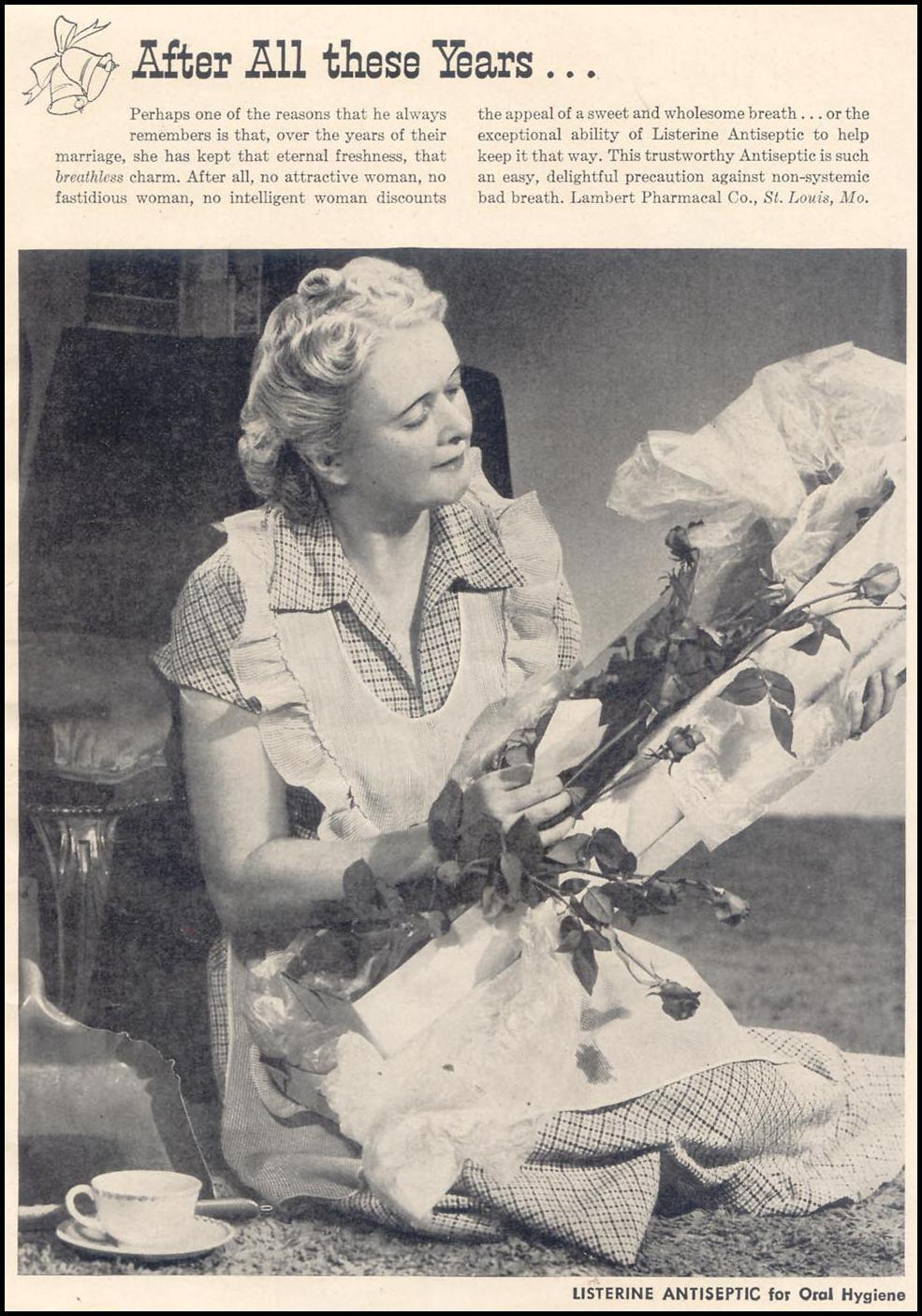 LISTERINE GOOD HOUSEKEEPING 07/01/1949 p. 3