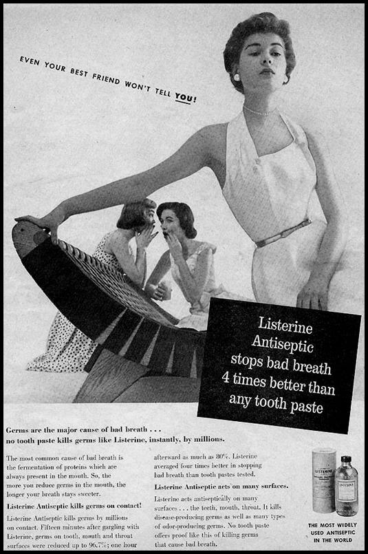 LISTERINE MOUTHWASH PHOTOPLAY 08/01/1956 p. 17