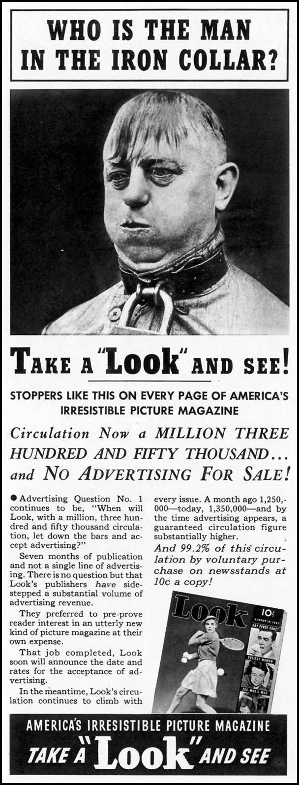 LOOK MAGAZINE LIFE 08/09/1937 p. 66