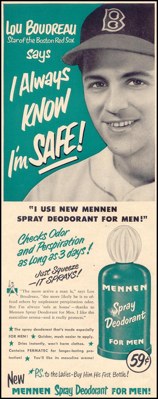 MENNEN SPRAY DEODORANT FOR MEN LIFE 07/30/1951 p. 6