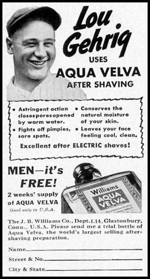 AQUA VELVA AFTER-SHAVE LOTION LIFE 09/20/1937 p. 106