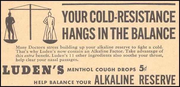 LUDEN'S COUGH DROPS LIBERTY 11/28/1936 p. 44