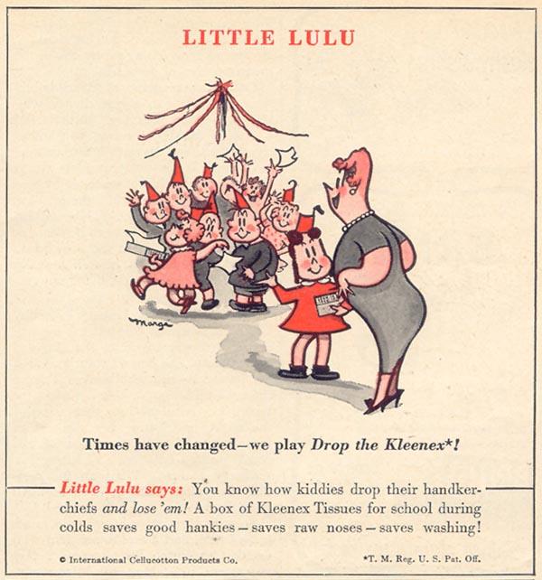 KLEENEX TISSUES WOMAN'S DAY 01/01/1949 p. 93