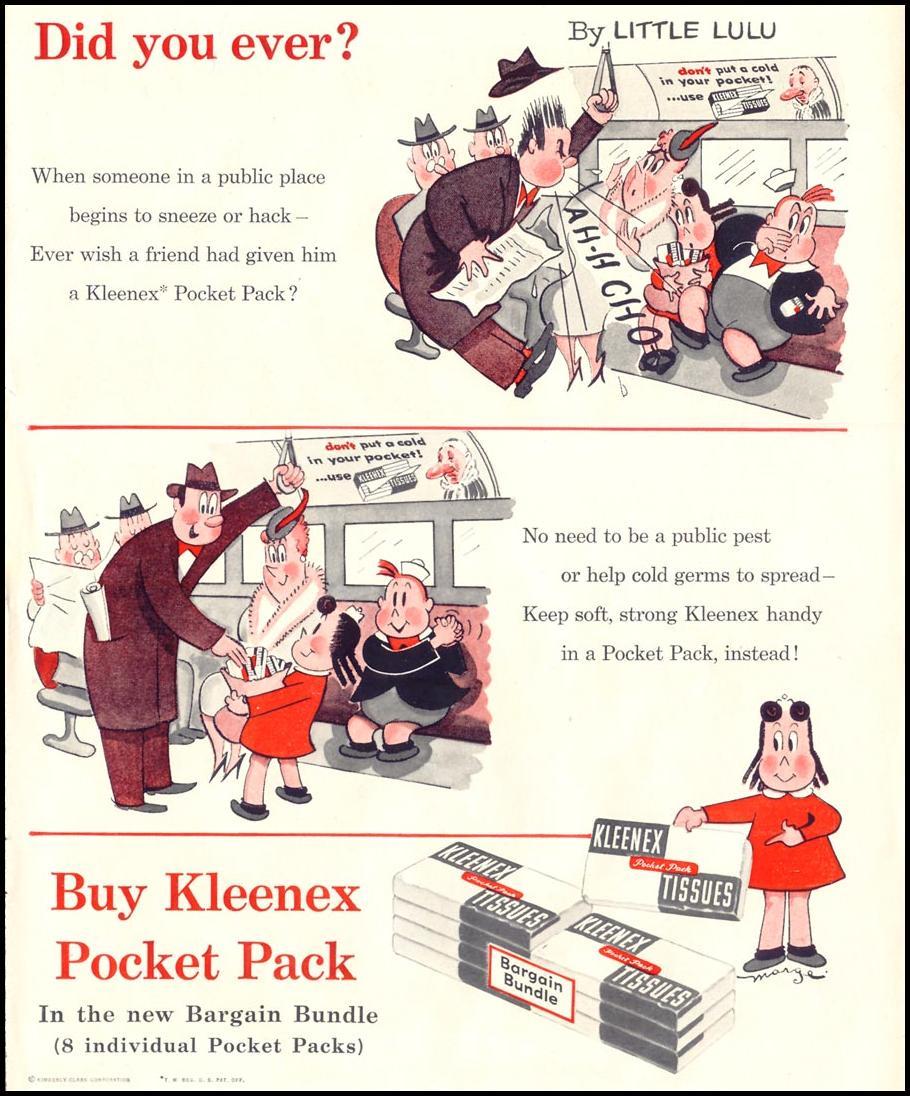 KLEENEX TISSUES LIFE 11/14/1955 p. 59