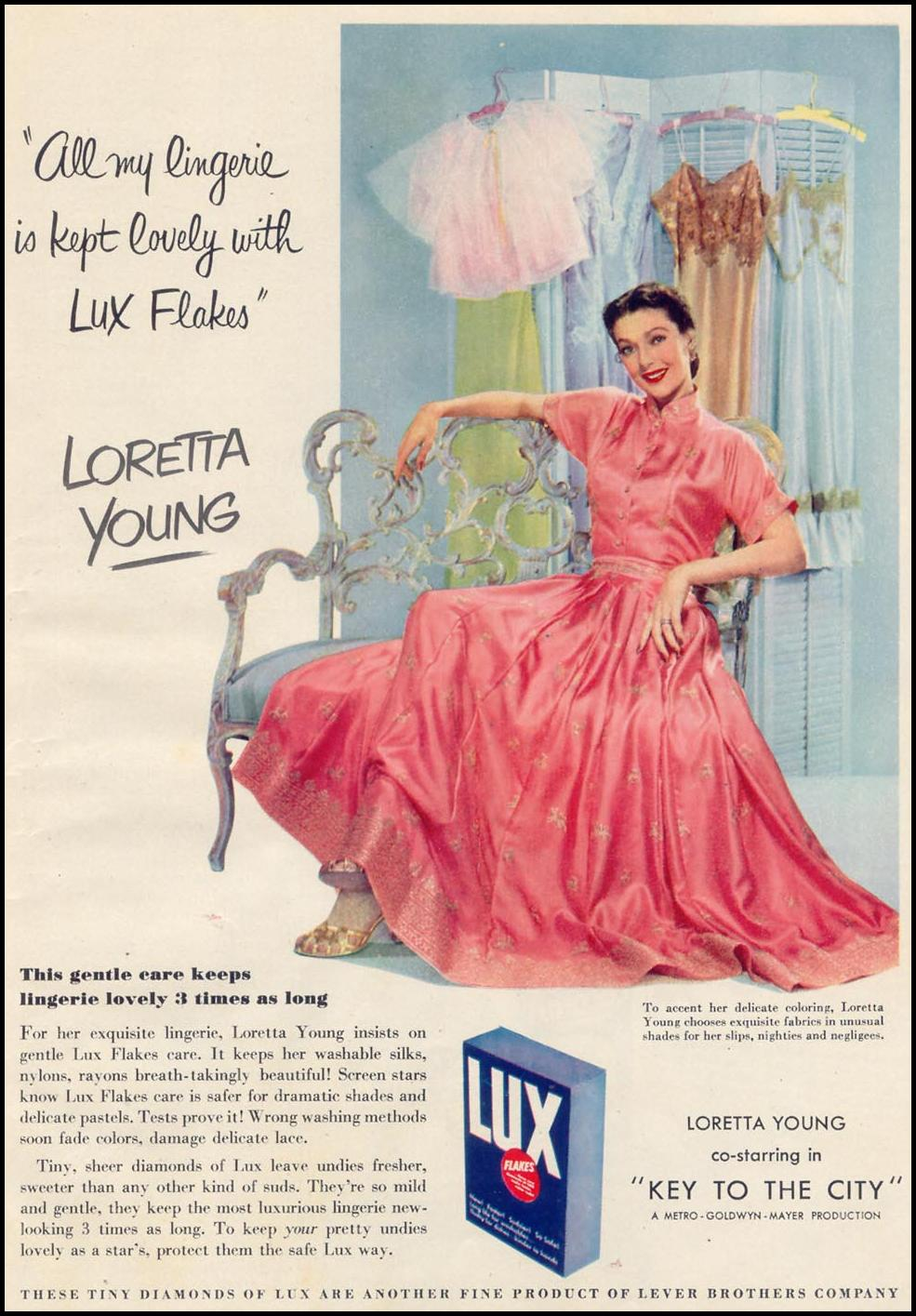 LUX SOAP WOMAN'S DAY 02/01/1950 p. 35