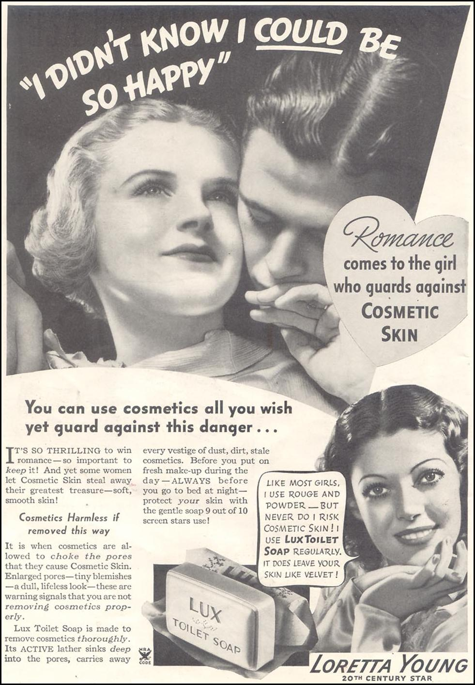 LUX SOAP GOOD HOUSEKEEPING 03/01/1935 p. 10