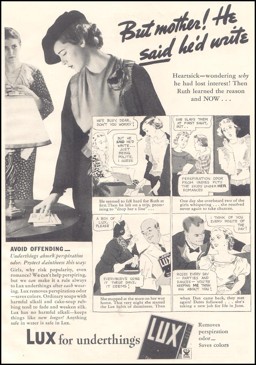 LUX SOAP GOOD HOUSEKEEPING 03/01/1935 p. 139
