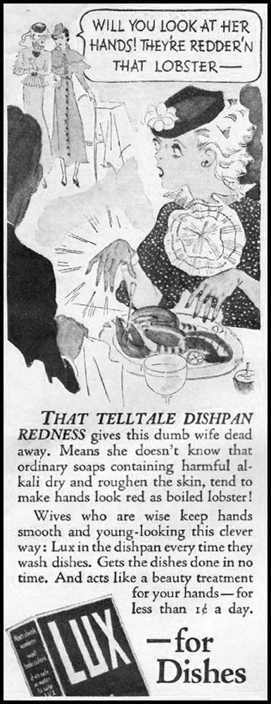 LUX SOAP GOOD HOUSEKEEPING 12/01/1935 p. 192