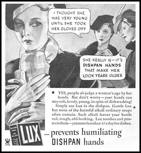 LUX SOAP GOOD HOUSEKEEPING 12/01/1934 p. 193