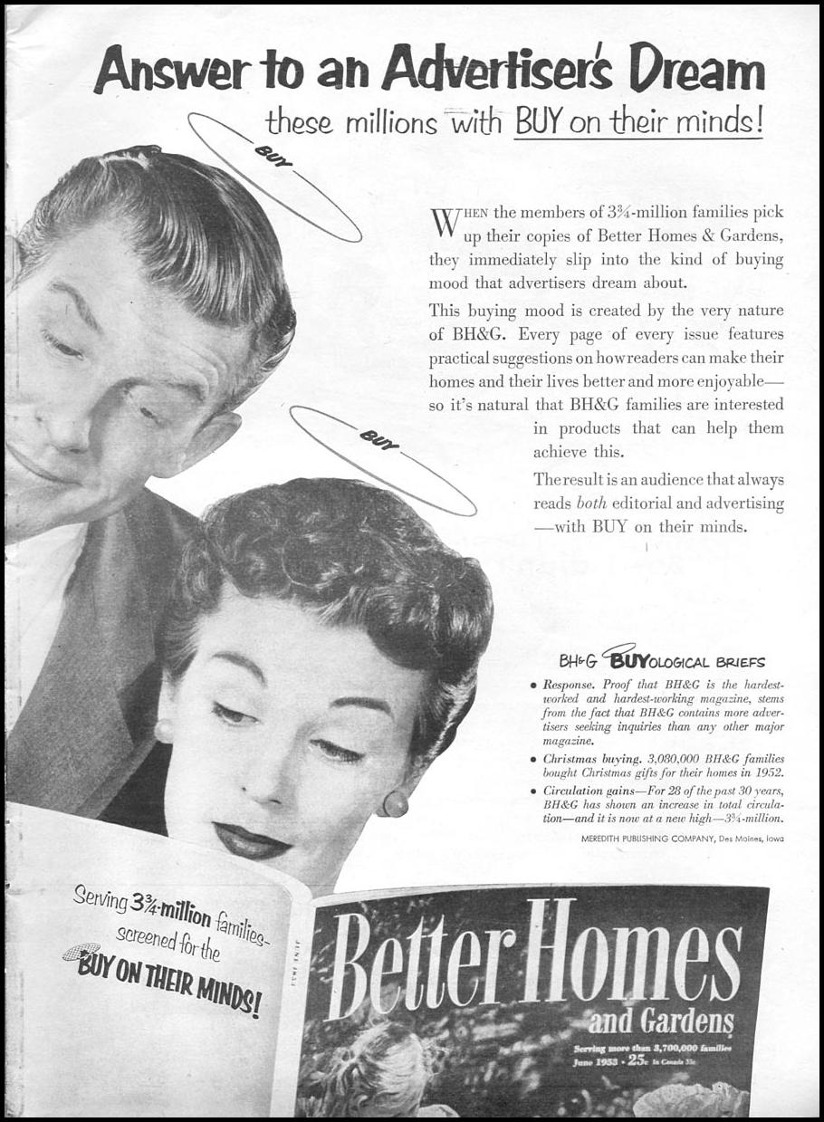 BETTER HOMES AND GARDENS MAGAZINE TIME 06/08/1953 p. 13