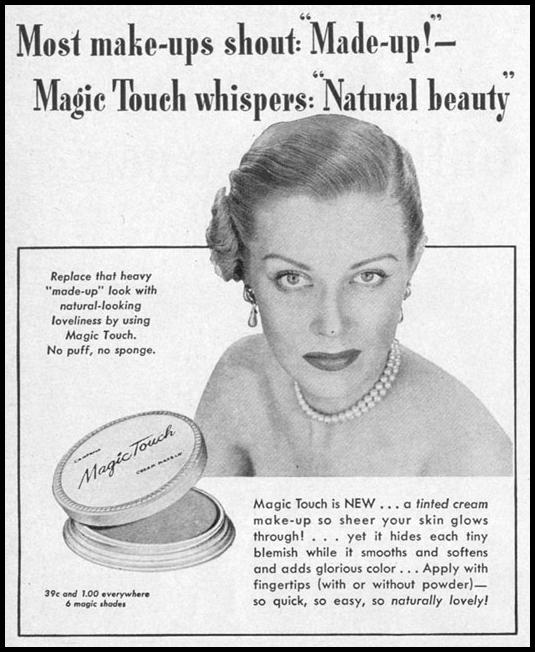 MAGIC TOUCH CREAM MAKE-UP LIFE 04/17/1950 p. 68
