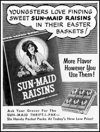 SUN-MAID RAISINS LIFE 04/13/1953 p. 178