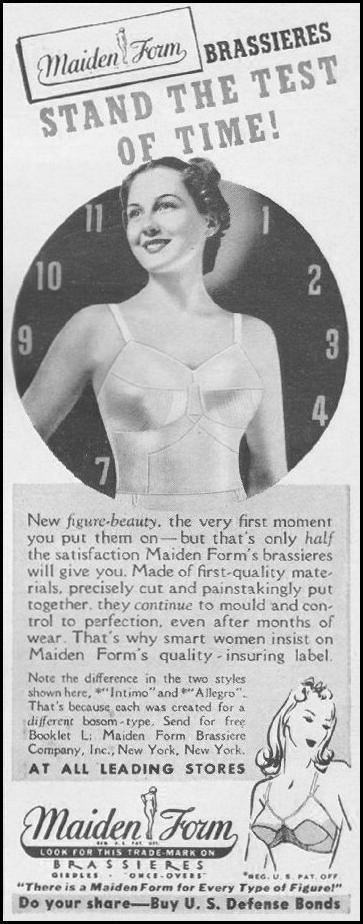 MAIDENFORM BRA LIFE 06/22/1942 p. 83