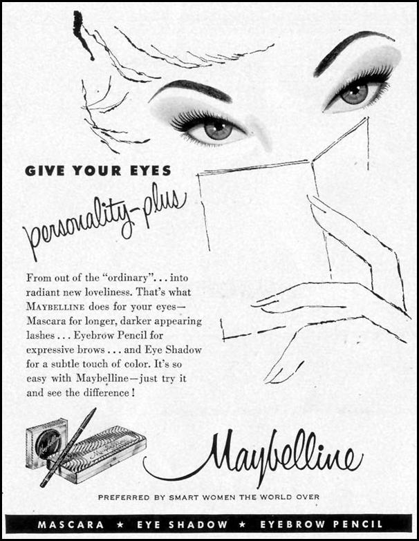 MAYBELLINE EYE MAKE-UP LIFE 09/07/1953 p. 96