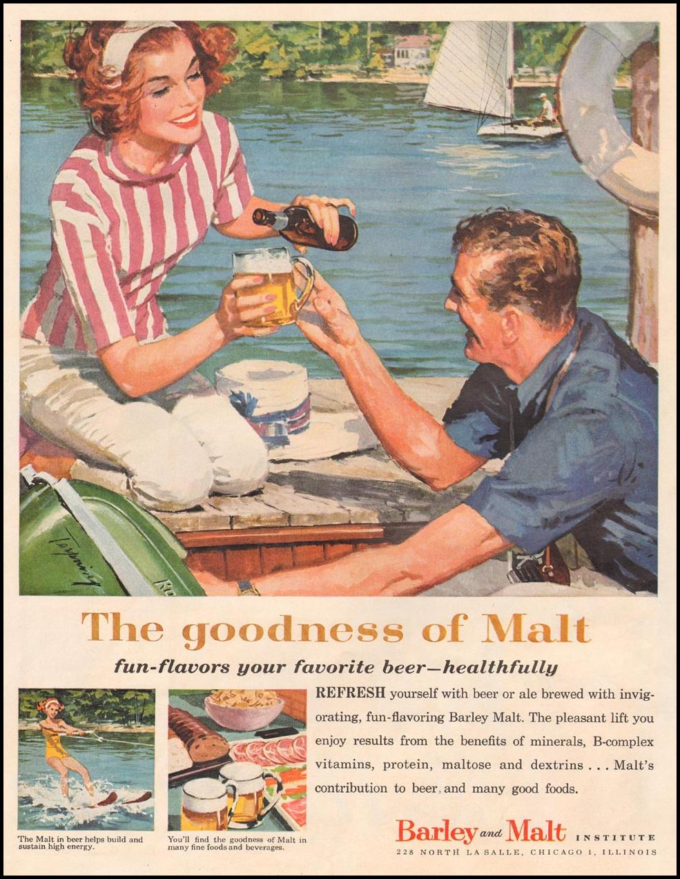 MALT PRODUCTS LIFE 08/10/1959