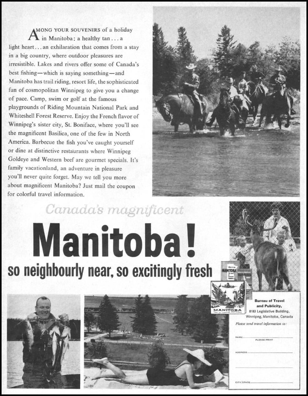 MANITOBA VACATIONS LIFE 05/05/1961