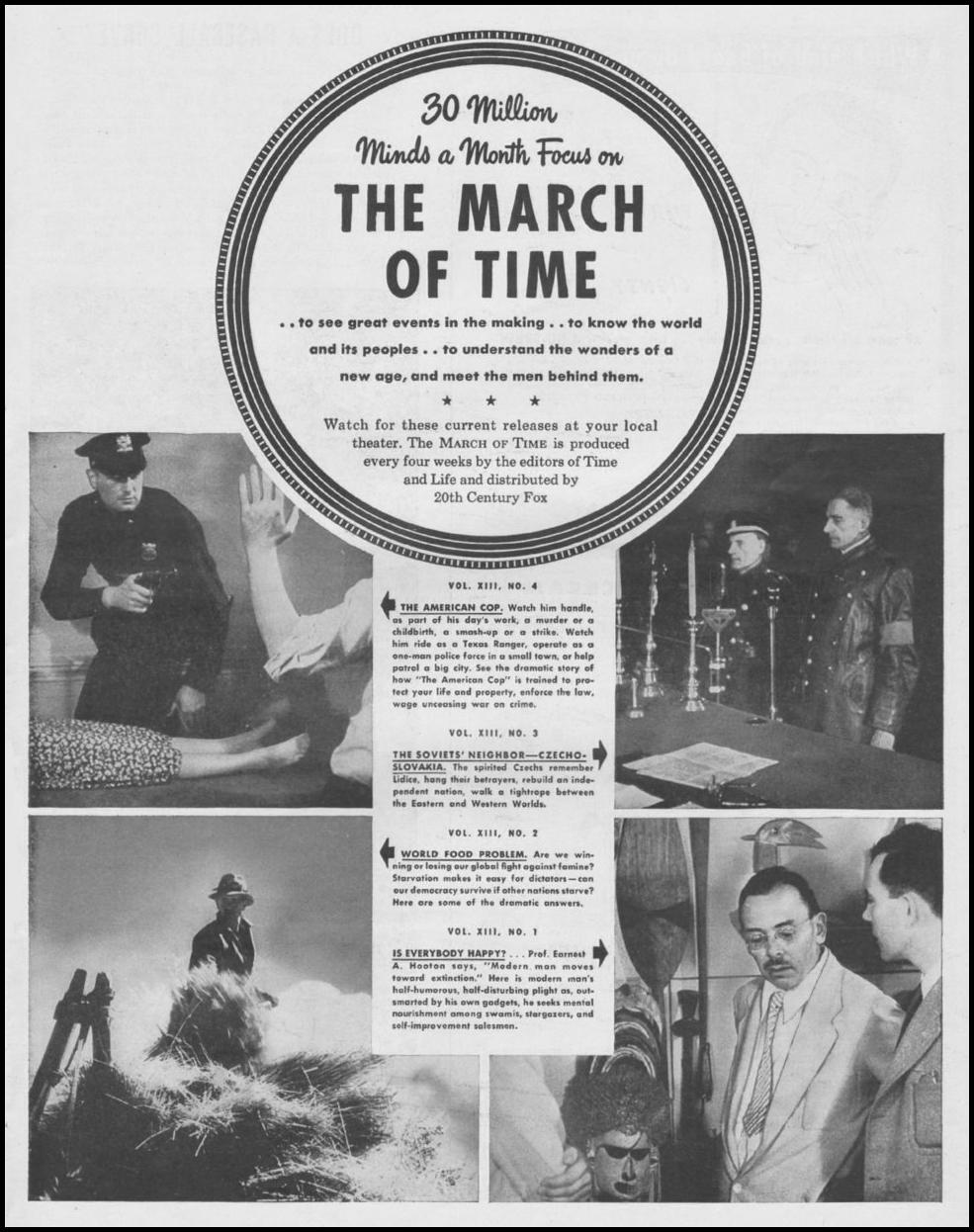 THE MARCH OF TIME LIFE 11/25/1946 p. 103