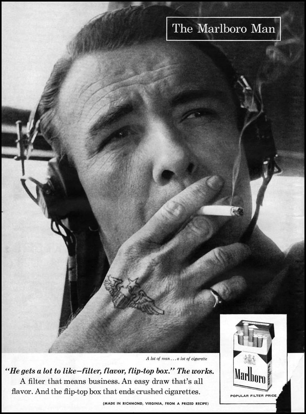 MARLBORO CIGARETTES LIFE 07/01/1957 p. 4