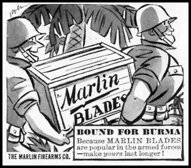 MARLIN RAZOR BLADES LIFE 01/18/1943 p. 96