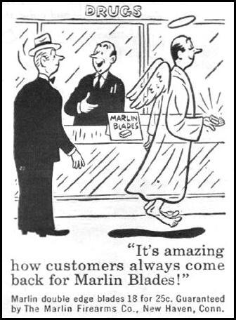 MARLIN RAZOR BLADES LIFE 03/12/1945 p. 106