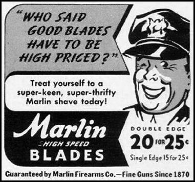 MARLIN RAZOR BLADES LIFE 09/29/1941 p. 100