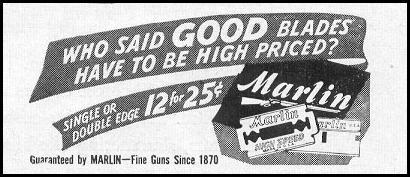 MARLIN RAZOR BLADES LIFE 10/11/1948 p. 98
