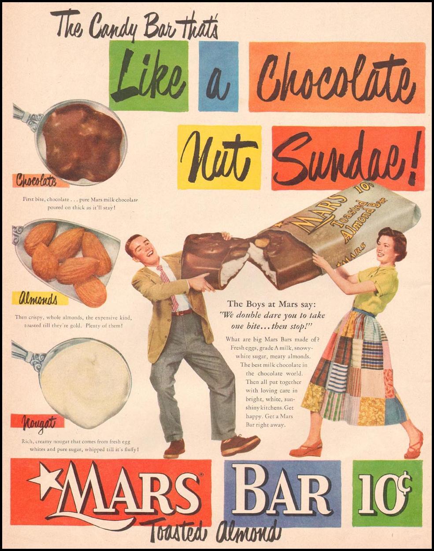 MARS CANDY BAR LIFE 04/30/1951 p. 20