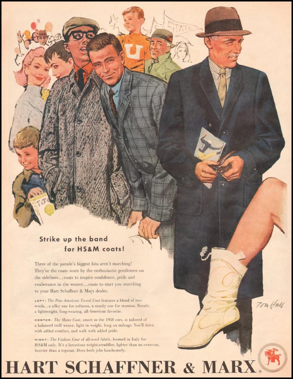 HS & M COATS LOOK 10/29/1957 p. 44