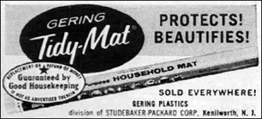 GERING TIDY-MAT LIFE 10/05/1959 p. 162