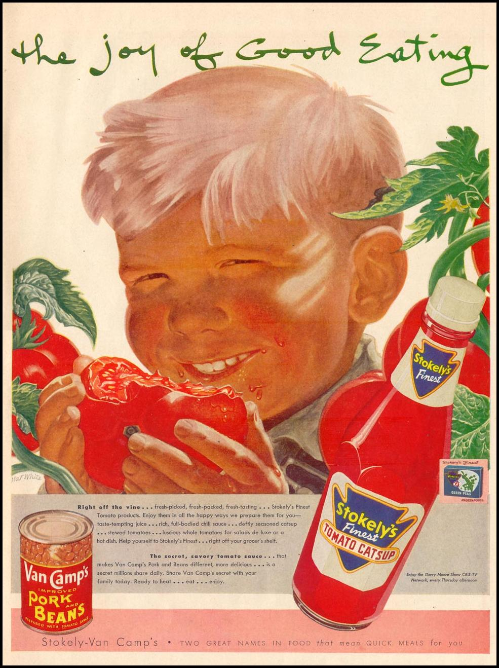 STOKELY FINEST TOMATO PRODUCTS LIFE 02/02/1953 p. 99