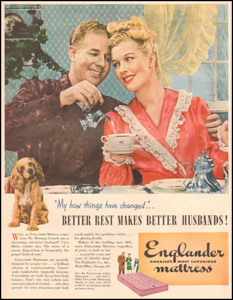 ENGLANDER MATTRESS LIFE 03/12/1945