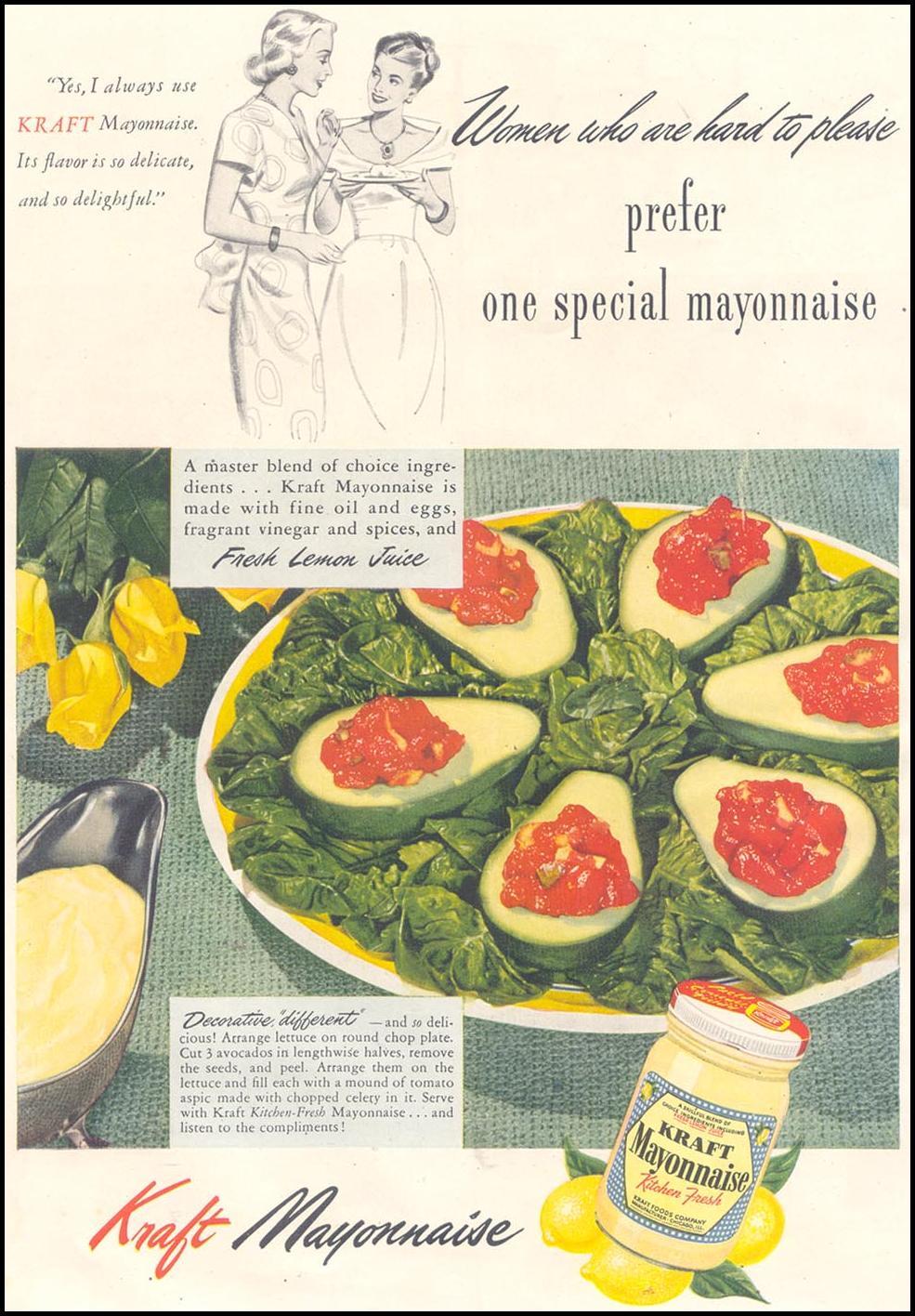 KRAFT MAYONNAISE GOOD HOUSEKEEPING 07/01/1948