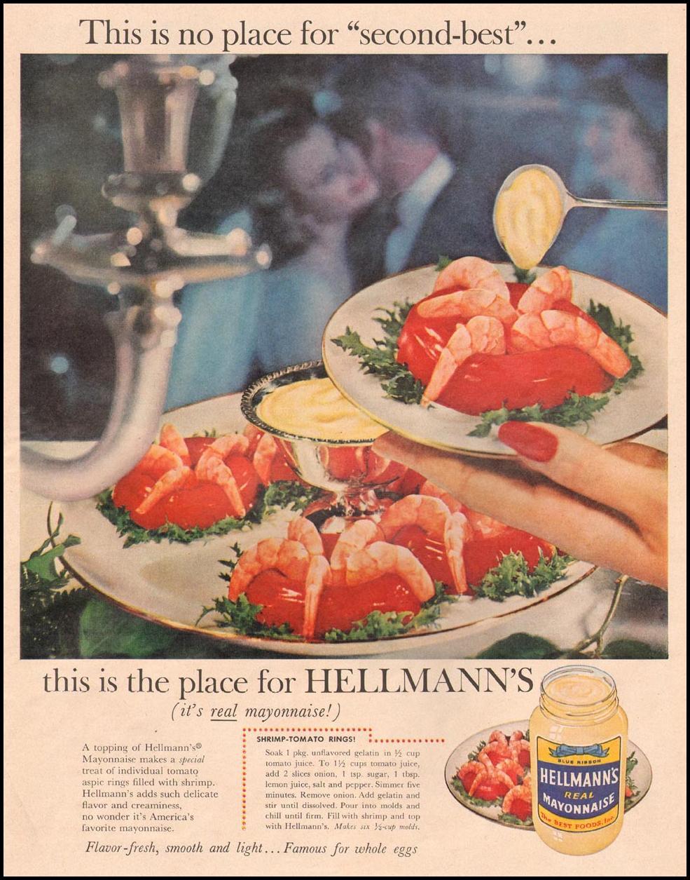 HELLMANN'S REAL MAYONNAISE LIFE 09/15/1958