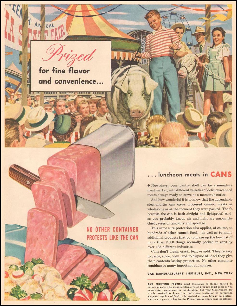 METAL CANS LIFE 06/04/1945